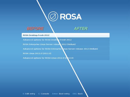 Another contribution to GRUB upstream - Блог:ROSA Planet - Rosalab Wiki